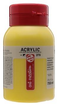 Talens Art Creation acrylverf flacon van 750 ml, primairgeel