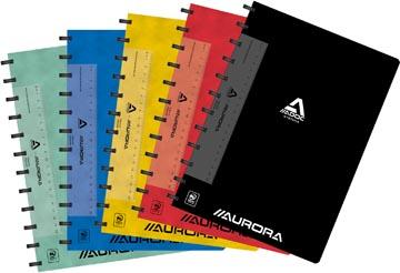 Adoc Classic schrift, ft A4, 144 bladzijden, gelijnd, geassorteerde kleuren
