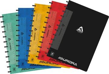 Adoc Classic schrift, ft A4, 144 bladzijden, geruit 5 mm, geassorteerde kleuren