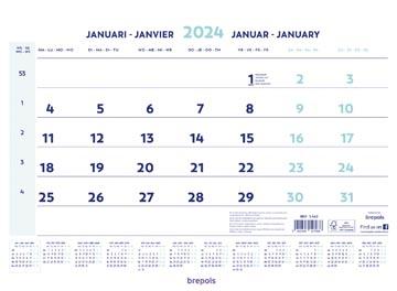 Brepols maandkalender, 2022