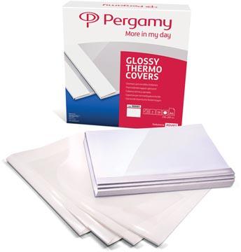 Pergamy thermische omslagen ft A4, 1,5 mm, pak van 100 stuks, wit