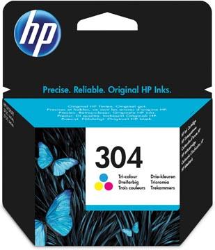HP inktcartridge 304, 100 pagina's, OEM N9K05AE, 3 kleuren