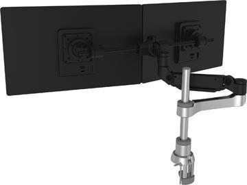 R-Go Caparo 4 Monitorarm + Bar