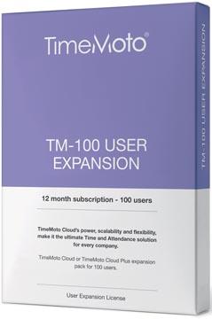 Safescan TimeMoto Cloud User Expansion pakket, 100 gebruikers