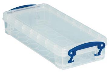 Really Useful Box pennenbakje 0,55 liter, transparant
